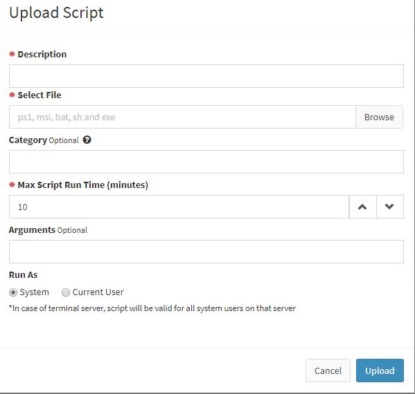 Run Powershell Script – Atera Support