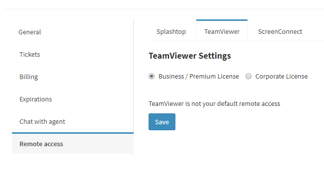 Connect Remotely with TeamViewer – Atera Support