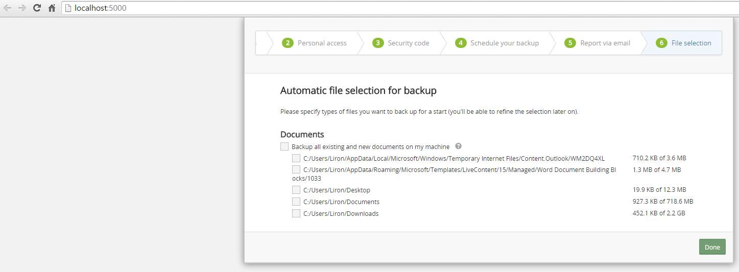 Backup-Verwaltung